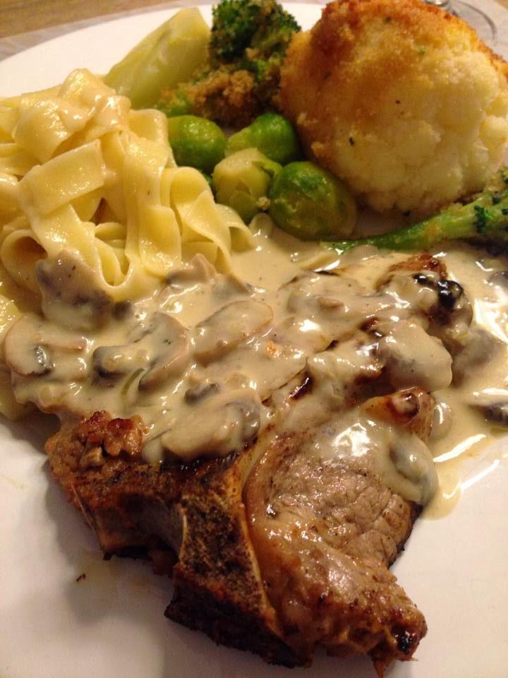 764a631eef Μπριζόλες αλα κρεμ με μανιτάρια – Olga s cuisine